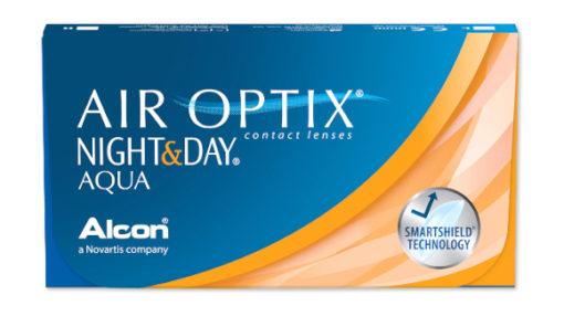Air Optix Night & Day Aqua contact lenses