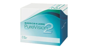 PureVision 2 contact lenses