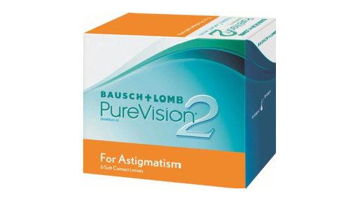 PureVision 2 Astigmatism contact lenses