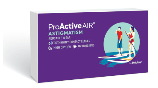 ProActive Air Astigmatism contact lenses
