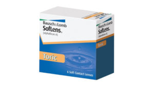 SofLens Toric contact lenses