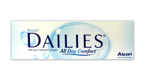 Focus Dailies All Day Comfort contact lenses
