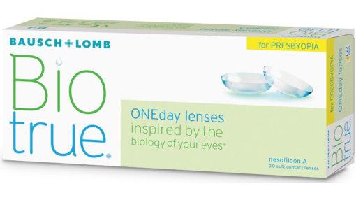 Biotrue ONEday for Presbyopia contact lenses