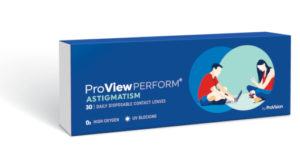 Proview Perform 1-day Astigmatism contact lenses