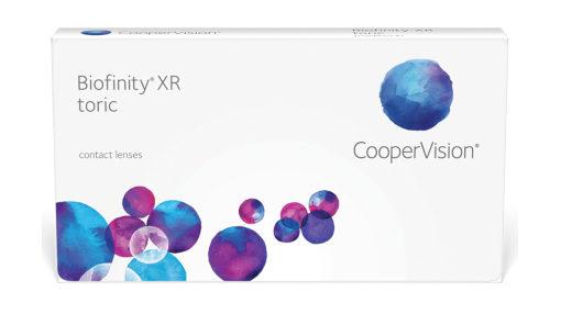Biofinity XR Toric contact lenses