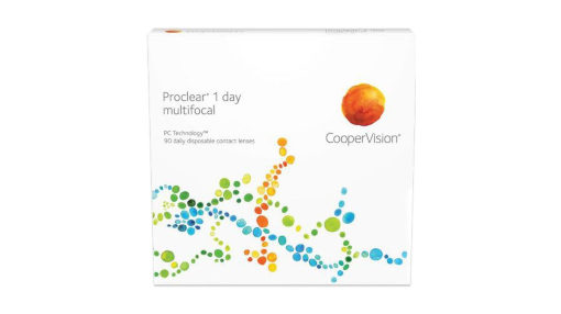 Proclear 1-Day Multifocal contact lenses